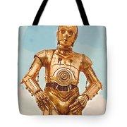 Star Wars Old Poster Tote Bag