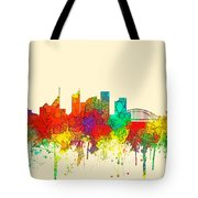 Sydney Australia Skyline Tote Bag