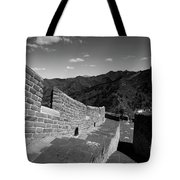 The Great Wall Of China Near Jinshanling Village, Beijing Tote Bag