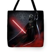 Trilogy Star Wars Art Tote Bag