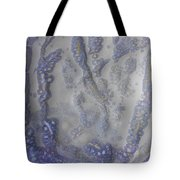 10. V1 Speckled Blue And Yellow Glaze Painting Tote Bag