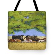 100 Degrees Plus Tote Bag by Tracy L Teeter