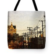 100 East Wisconsin Tote Bag