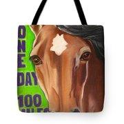 100 Mile Horse Tote Bag