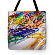 100 Paperclips Tote Bag