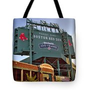 100 Years At Fenway Tote Bag
