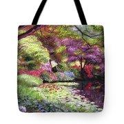 Water Lily Lake Tote Bag