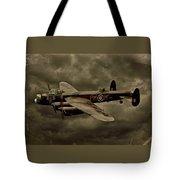 103 Squadron Avro Lancaster Tote Bag