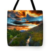 Nature Landscapes Prints Tote Bag