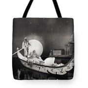 Silent Still: Man & Woman Tote Bag by Granger
