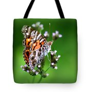 1074- Butterfly Tote Bag