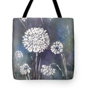 #1083 Wild Flower #1 Tote Bag
