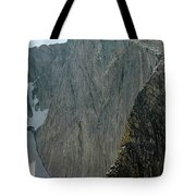 109723 Sheer East Face Of Cloud Peak Tote Bag by Ed  Cooper Photography