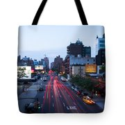 10th Avenue Lights Tote Bag