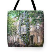10th Street Wisteria Tote Bag