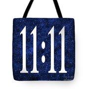 11 11 Tote Bag