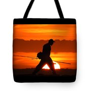 11-2-17--3904 Don't Drop The Crystal Ball Tote Bag