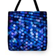 Abstract Lights Tote Bag