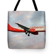 Air Berlin Airbus A320-214 Tote Bag