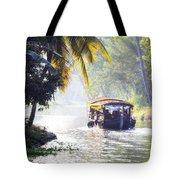 Backwaters Kerala - India Tote Bag