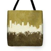Baltimore Maryland Skyline Tote Bag