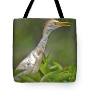 11- Cattle Egret Tote Bag