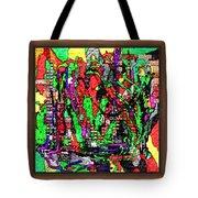 Digital Software Art Tote Bag