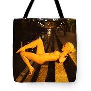 Elle Black Tote Bag