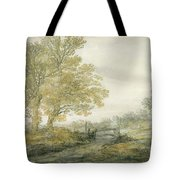 Landscape With Trees Tote Bag
