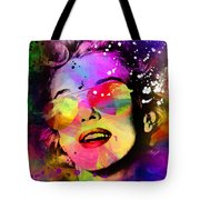 Marilyn Monroe  Tote Bag by Mark Ashkenazi