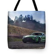 #mercedes #amg #gtr #print Tote Bag by ItzKirb Photography