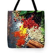 Spices And Herbs Tote Bag