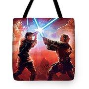 Star Wars Episode 2 Poster Tote Bag