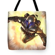 Star Wars Poster Art Tote Bag