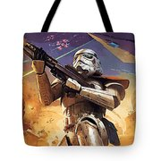 Star Wars Saga Poster Tote Bag
