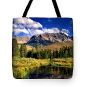 T C Landscape Tote Bag