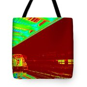 Train Station Series Tote Bag