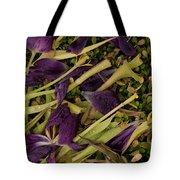 Tulips Wilting Tote Bag