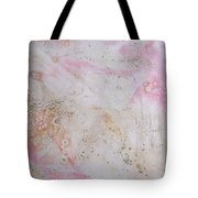 11. V2 Pink And Cream Texture Glaze Painting Tote Bag