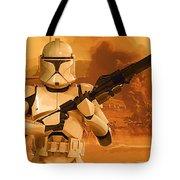 Vintage Star Wars Poster Tote Bag