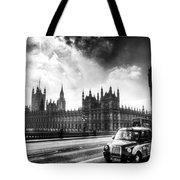 Westminster Bridge London Tote Bag