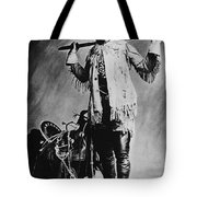 William F. Cody (1846-1917) Tote Bag by Granger