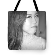 Asian Female Beauty. Tote Bag