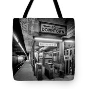 110th Street And Lenox Avenue Station - New York City Tote Bag