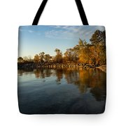 Autumn Beach - The Splendor Of Fall On The Shores Of Lake Ontario Tote Bag