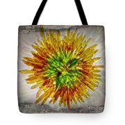 11262 Flower Abstract Series 02 #16a Tote Bag