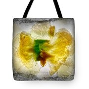 11264 Flower Abstract Series 02 #17 - Carnation Tote Bag
