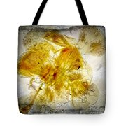 11265 Flower Abstract Series 02 #18 - Carnation 2 Tote Bag