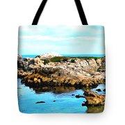 West Coast Seascape 2 Tote Bag