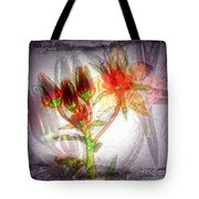 11305 Flower Abstract Series 03 #5 Tote Bag